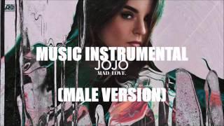 JoJo - Music Instrumental Karaoke (Down Pitched Male Version) Prod By J Smooth Soul