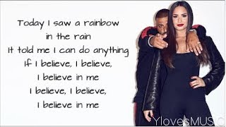 DJ Khaled ft. Demi Lovato - I Believe (Lyrics)