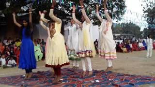 Birsa public school dance