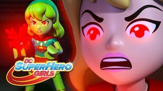 LEGO Brain Drain | Supergirl Gets Angry! | DC Super Hero Girls