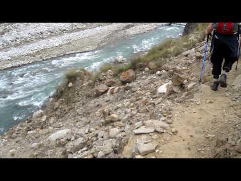 amh nepal trek riverside