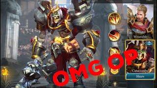 ARTHUR CATACOMBS SKIN OMG! - Arena Of Valor AoV [Gameplay]