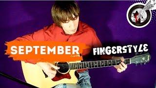 Earth, Wind & Fire - September on guitar   Fingerstyle funk