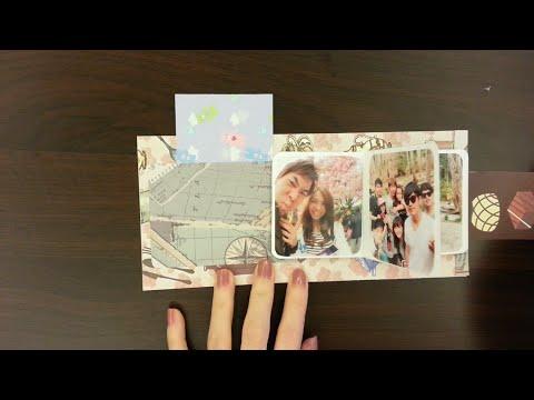 相片抽拉式卡片教學 - YouTube