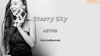 Starry Sky-ASTRO(Instrumental & Lyrics)
