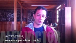 Alex Victor em viagem ao Peru