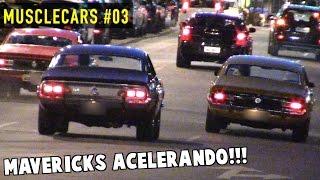 💪 MUSCLECARS #03 - Maverick acelerando, GTO, Opala, Charger e outros carros antigos!