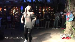 Dreezy Live: Street Swagg Sunday Block Party Hosted By KiKi J