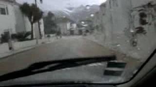 Santo António das Areias com chuvadas