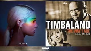 The Way I Cry   Ariana Grande vs. Timbaland (feat. Keri Hilson & D.O.E) (Mashup)