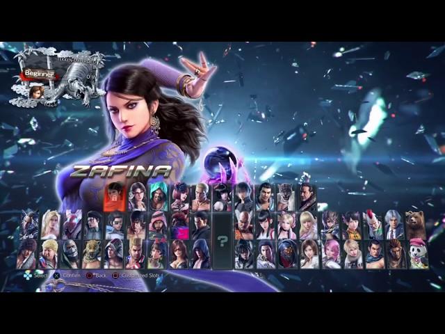 Download Tekken 7 Season 3 Character Select Screen Update New