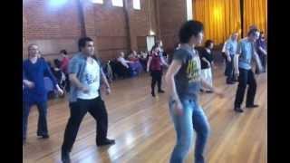 Shout line dance