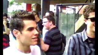 COEncontro 18/10/2009 pré Show Evanescence