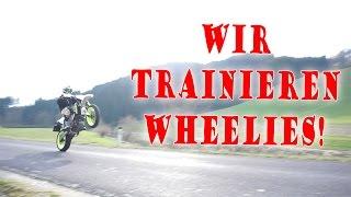WHEELIE geht fast SCHIEF!   Wheelie-Training   Dual Vlog!