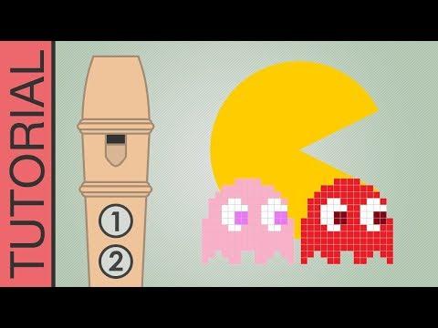 Jouer le thème de Pac-Man à la flûte