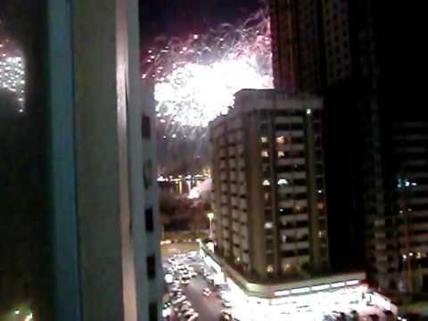 Fireworks, UAE, Dubai