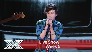 Shake it up, baby! Ryan covers The Beatles' Twist & Shout | Live Shows Week 5 | The X Factor UK 2016