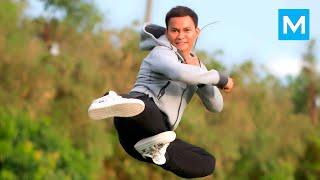 Tony Jaa Training for Fight Scenes | Muscle Madness