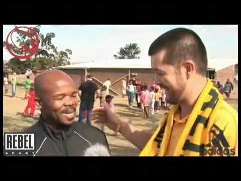 AB from Sportsnet does it for the Kids at FIFA 2010
