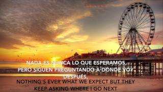 Robin Schulz- Sun Goes Down (Lyrics+ Sub Español)