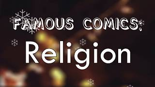 Intelligent Comedians on stupid Religions