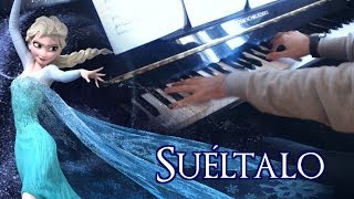 🎵 Suéltalo (Frozen) ~ Piano + vocal male cover by HollowRiku