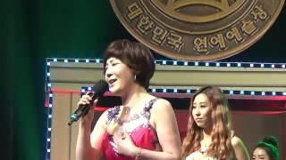 가수 강민주  .  회룡포   /  성인가요 10가수상  .  2016년 제22회 대한민국 연예예술상