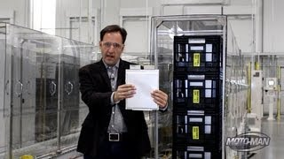 Nissan LEAF US Battery Factory -- How an Electric Car Battery is Made