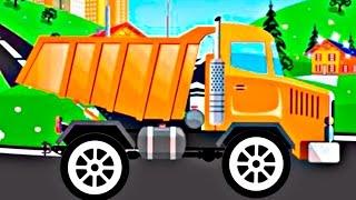 Мультфильмы для детей Мультики про машинки все серии подряд. Рабочие машины мультики