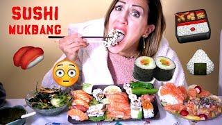 SUSHI MUKBANG !!! EATING SHOW !!! Mangiamo fino a SCOPPIARE !!!