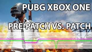 PUBG – Xbox One Pre-Patch 0.5.24.2 vs. Patch 0.5.25.9 Frame Rate Test & Performance Comparison
