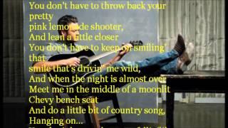 Blake Shelton - Sure Be Cool If You Did Lyrics Video