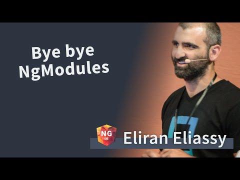 Bye bye NgModules