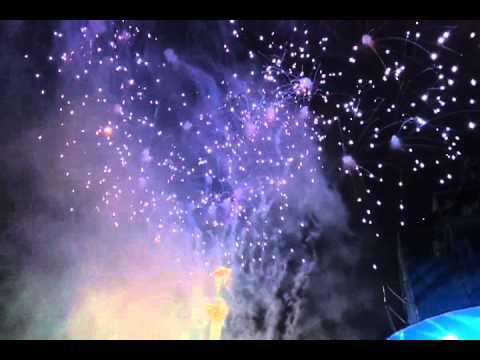 21st Anniversary of Ukraine Independence Fireworks