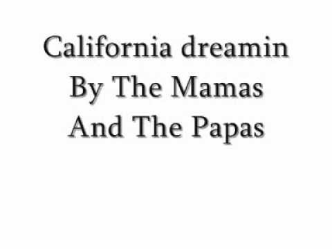 California Dreamin -The Mamas And Papas Lyrics Chords - Chordify