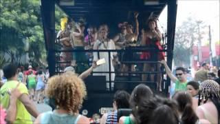 Lu Lopes e o bloco Nóis Trupica Mais Não Cai