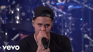 J. Cole - Work Out (Live on Letterman) width=