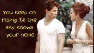 Only One - Kanye West (Nick Jonas Cover ) LYRIC VIDEO