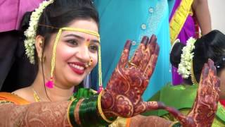 Marathi  wedding  highlight  song. Video by vikram