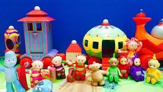 Teletubbies Meet In The Night Garden Toys