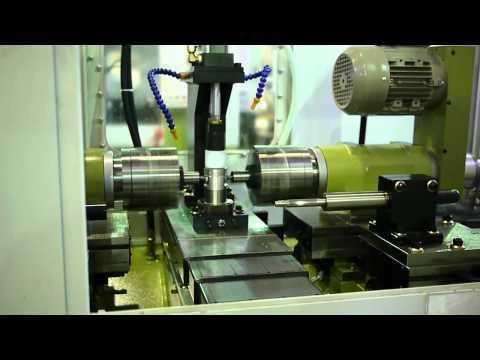 PLC+CNC Piston Line : OP#70 Circlip Grooving+Burnishing MGB 70