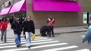 Crazy Homeless w/ chain shouts  'Osama Bin Laden' - @OpieRadio