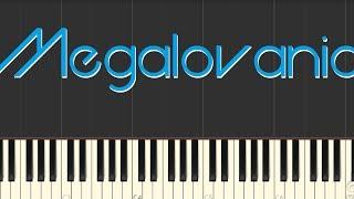 Undertale - Megalovania (amella Piano Tutorial)