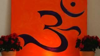 Om Mantra Rezitation sehr langsames Mantra Japa