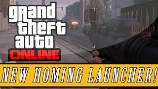 GTA 5: Festive Update DLC | Homing Launcher & Proximity Mine Gameplay! (Christmas DLC Update)