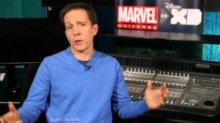 "James Arnold Taylor as Yondu/Cosmo in ""Marvel's Guardians of the Galaxy"""