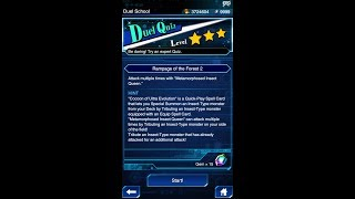 Yugioh Duel Links - Duel Quiz Level 3 : Rampage of the Forest 2