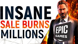 Industry FIRST?! Epic Burn MILLIONS On 'Mega' Game Sale, Bankrolling Blanket Discounts