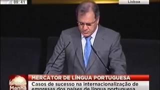 Mercator da Língua Portuguesa | SIC Notícias | Edição da Manhã |