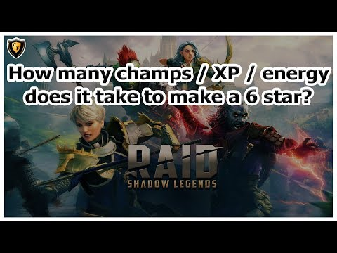 RAID: SL - How much does it really take to make a 6 star champ?
